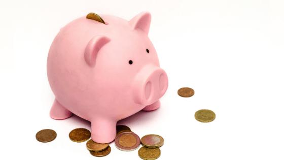 bank save money coins piggy bank