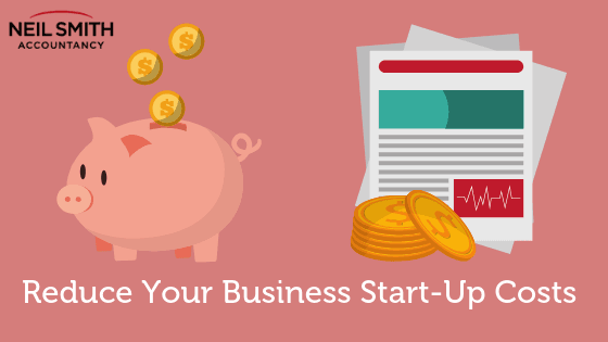 Reduce business start up costs money funds finance