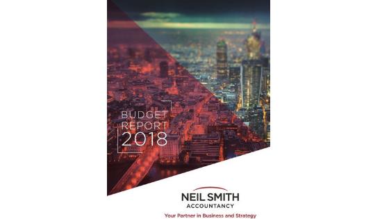 Autumn Budget Summary 2018 Neil Smith Accountancy