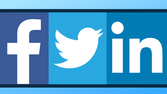 small business social media Facebook twitter linkedin
