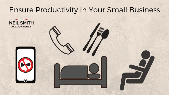 sleep well eat well goood habits increase productivity
