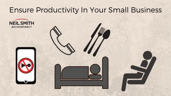 sleep well eat well goood habits increase productivity