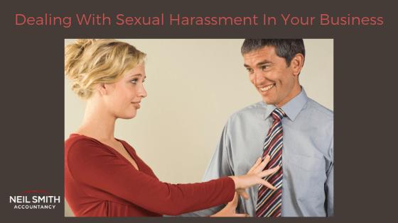 woman rejecting male advances