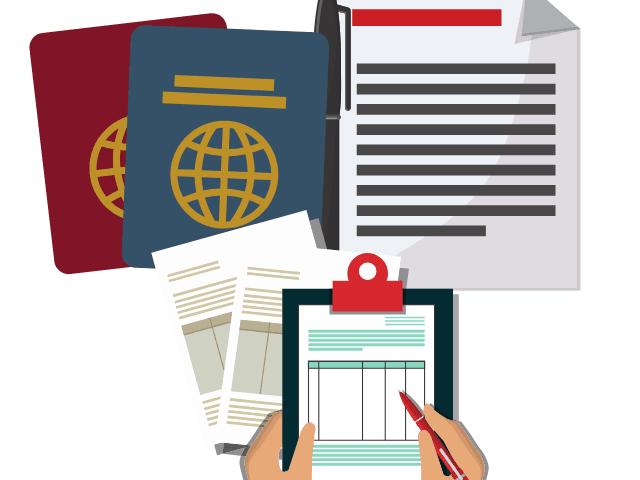 carry out document checks