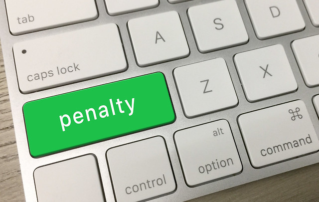 Penalty on Keyboard
